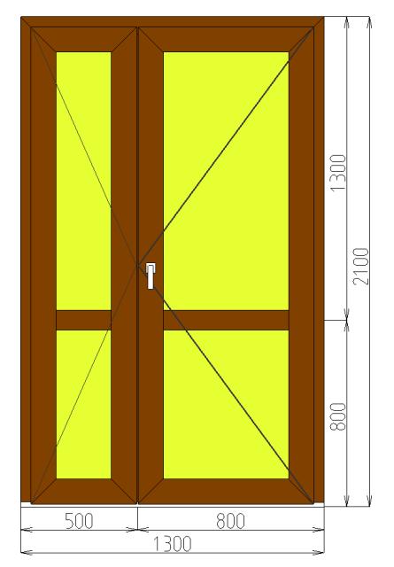двери металлические входные 1300 2100