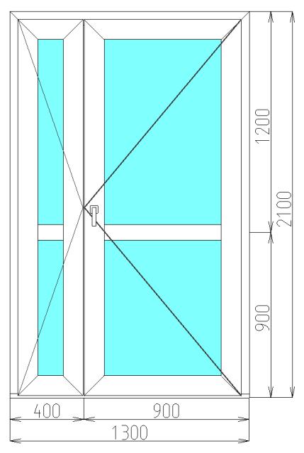 входная стальная дверь 1300 2100